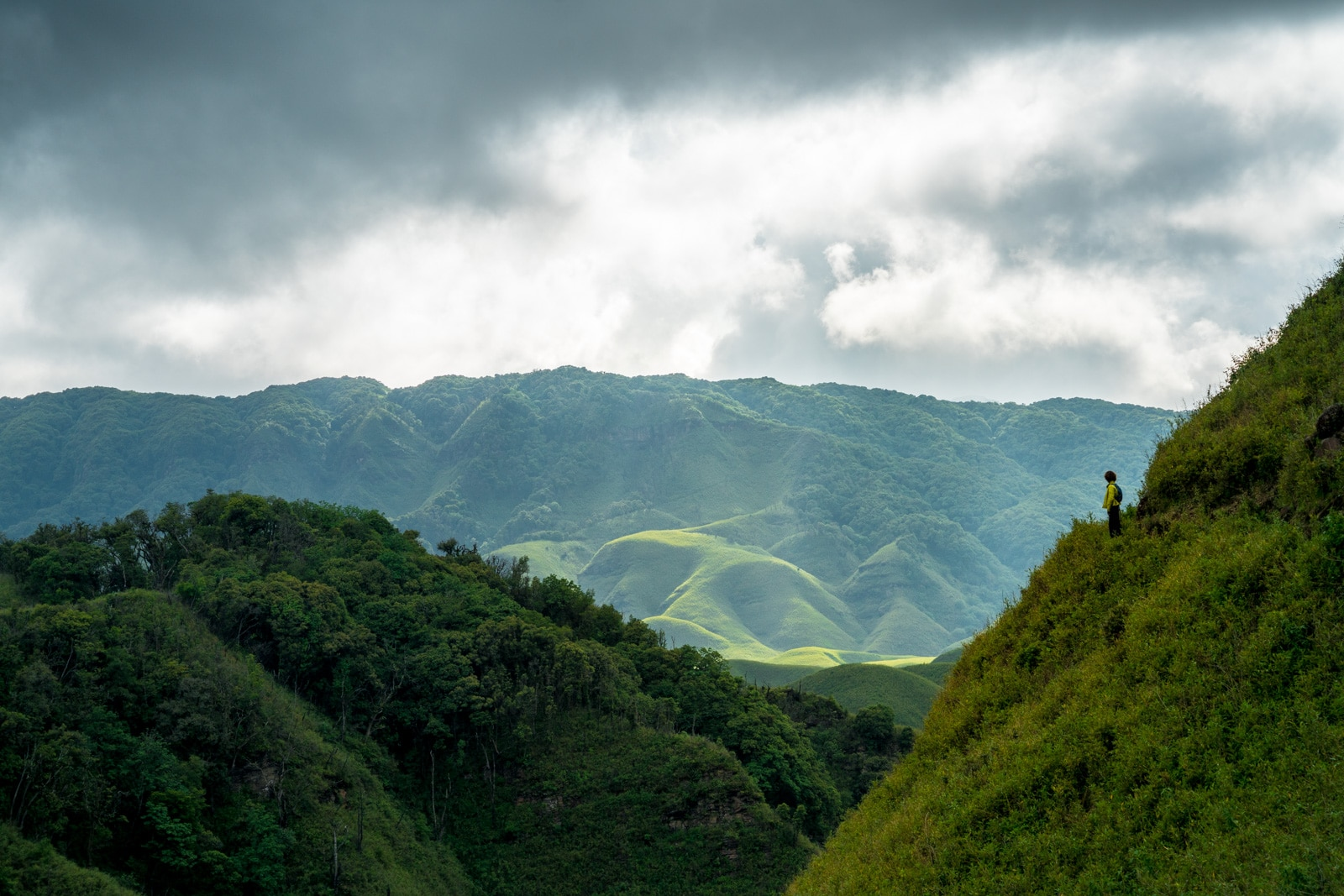 How to get to Dzukou Valley from Nagaland, India - Hiking in to Dzukou Valley - Lost With Purpose