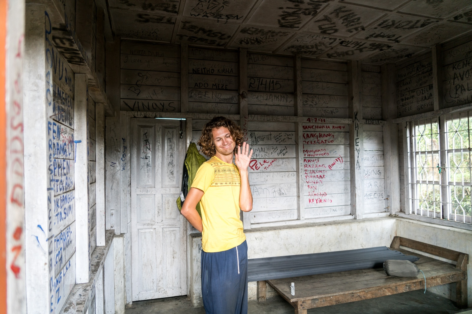 How to get to Dzukou Valley from Kohima, Nagaland, India - Rest house VIP room - Lost With Purpose