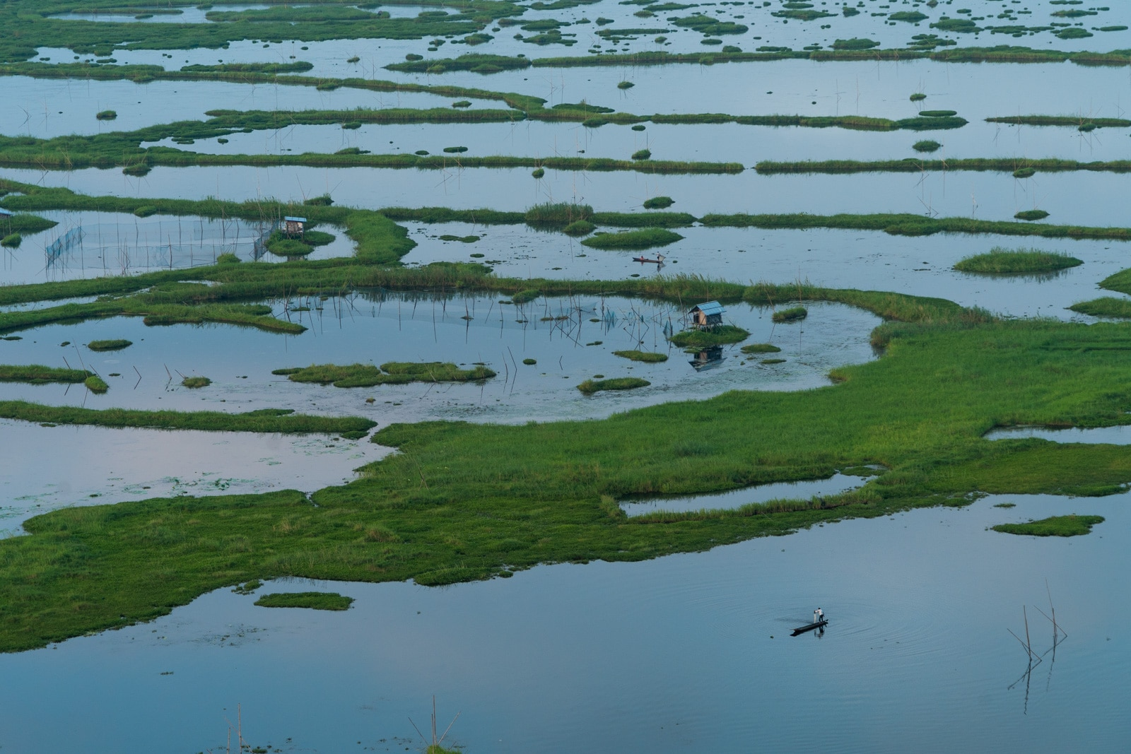 Why you need to visit Loktak Lake, Manipur, Northeast India - A lone fisherman - Lost With Purpose