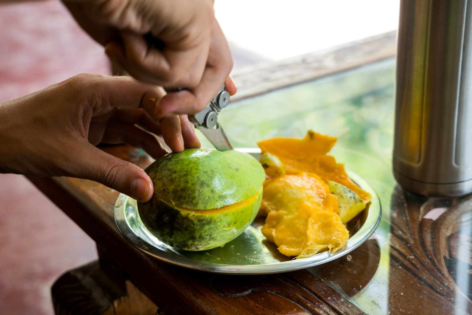 Why you need to visit Loktak Lake, Manipur, Northeast India - Green mango fresh off the local tree - Lost With Purpose