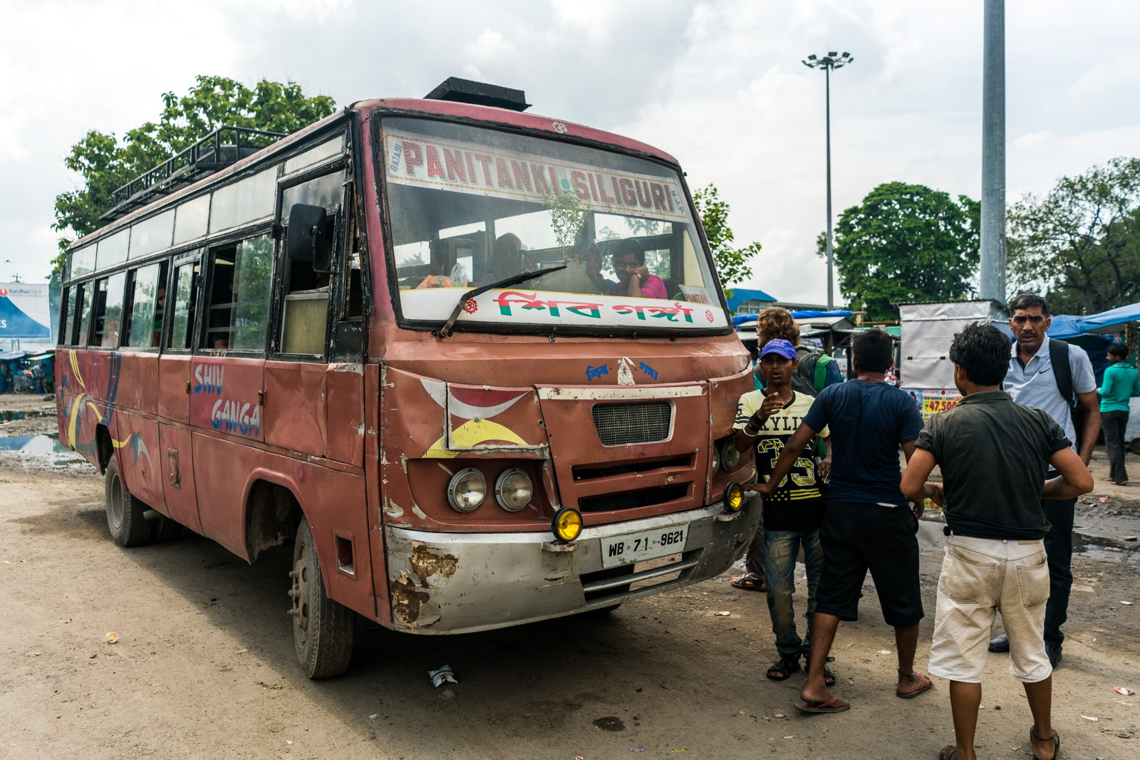India - Nepal border crossing at Panitanki - Kakarbhitta - Bus to the border from NJP railway station - Lost With Purpose