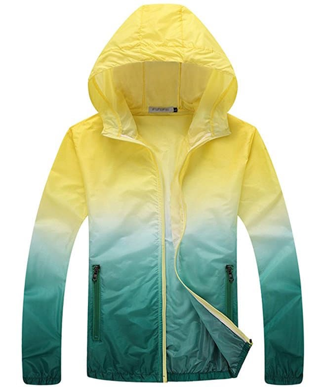 Monsoon travel packing list - Colorful rain coat