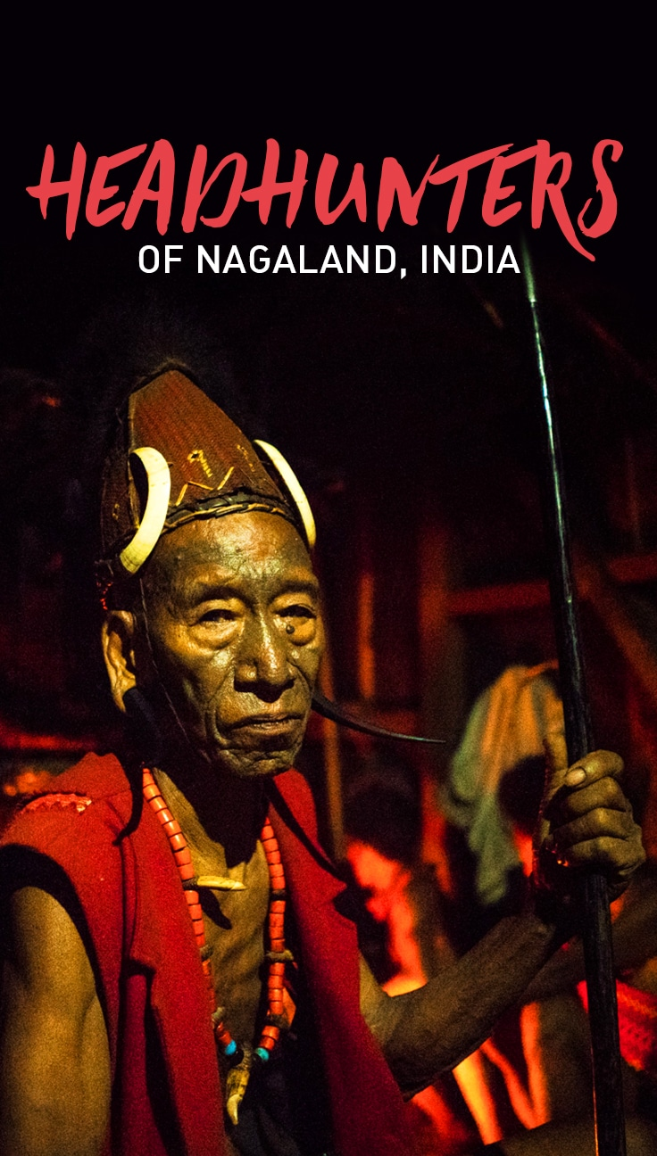 The Longwa tribe of Nagaland, India, lives in a village right atop the India-Burma border. They're famous for being headhunters—collecting the heads of their enemies—but headhunting has been made illegal. What is happening to their culture now? Click to find out.