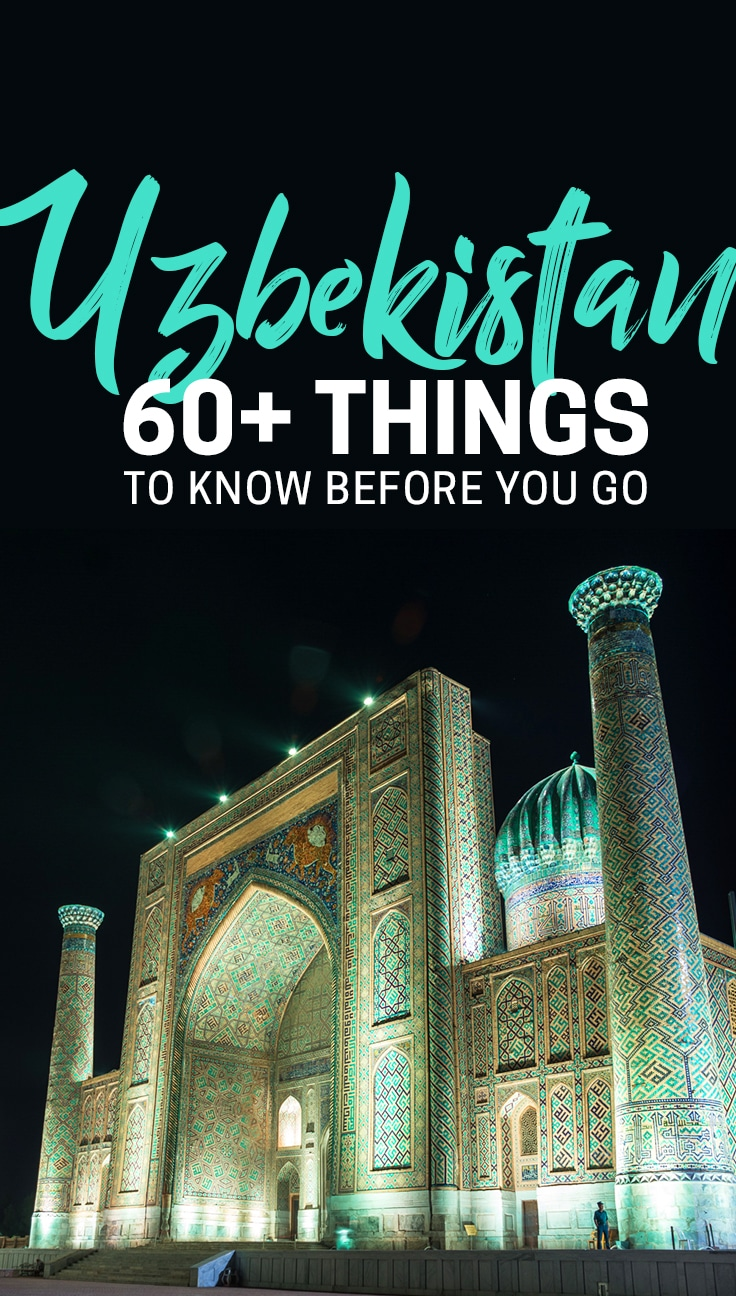 Things to know before visiting Uzbekistan - Lost with