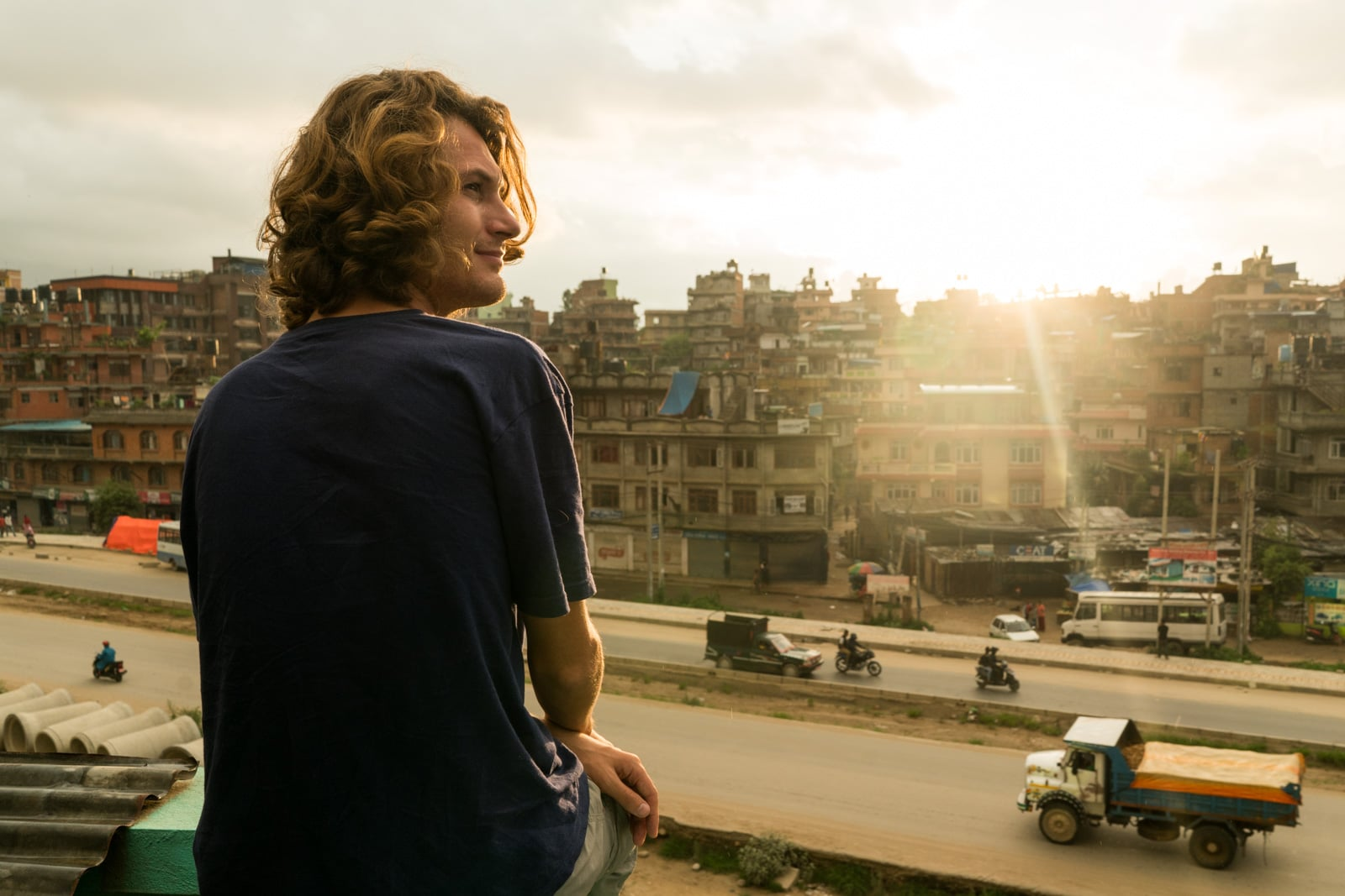 Best budget places to stay with wifi in Kathmandu and Patan (Lalitpur) - View of Patan from above - Lost With Purpose travel blog