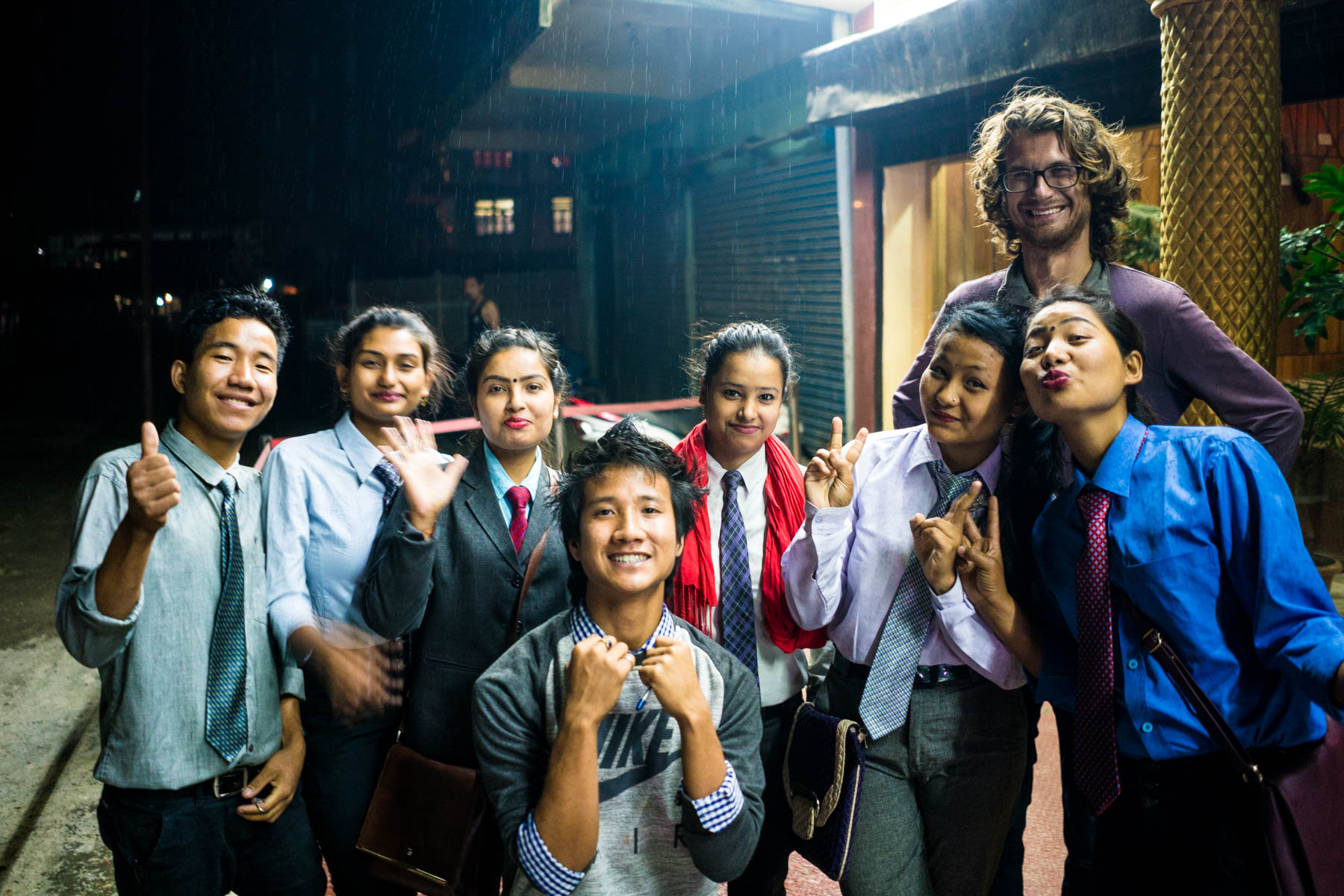 Why you need to travel in Northeast India - Making friends in Daporijo, Arunachal Pradesh - Lost With Purpose travel blog
