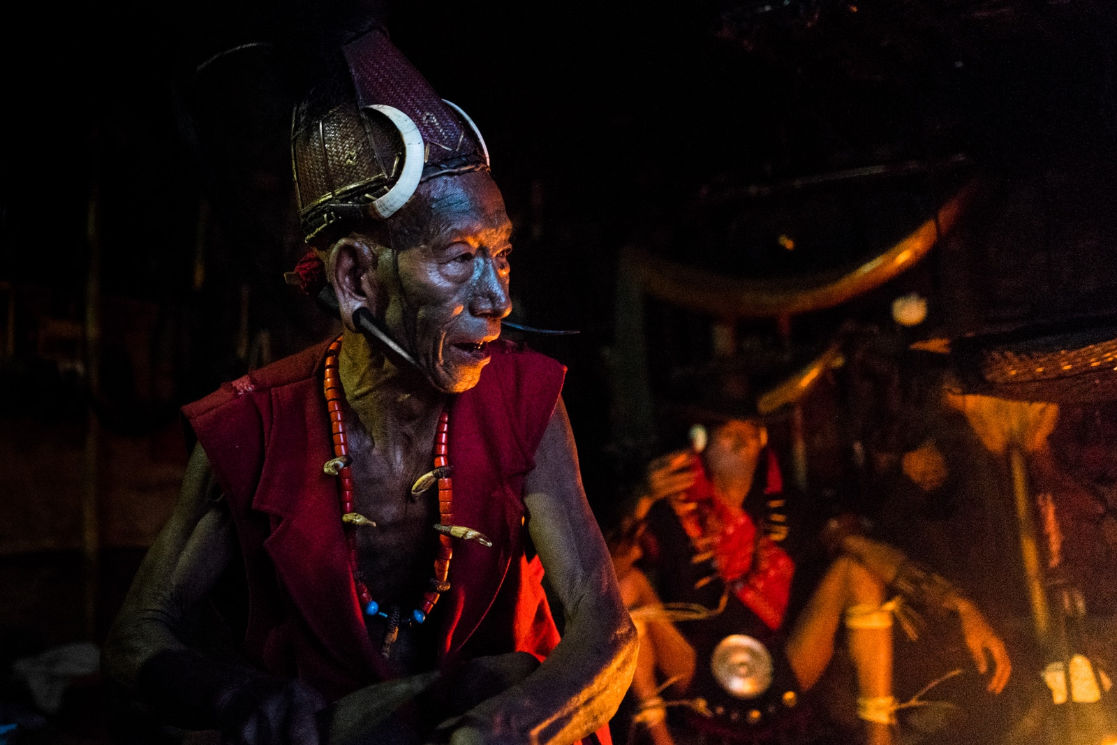 Why you need to travel in Northeast India - Longwa culture at the fire in Nagaland - Lost With Purpose travel blog