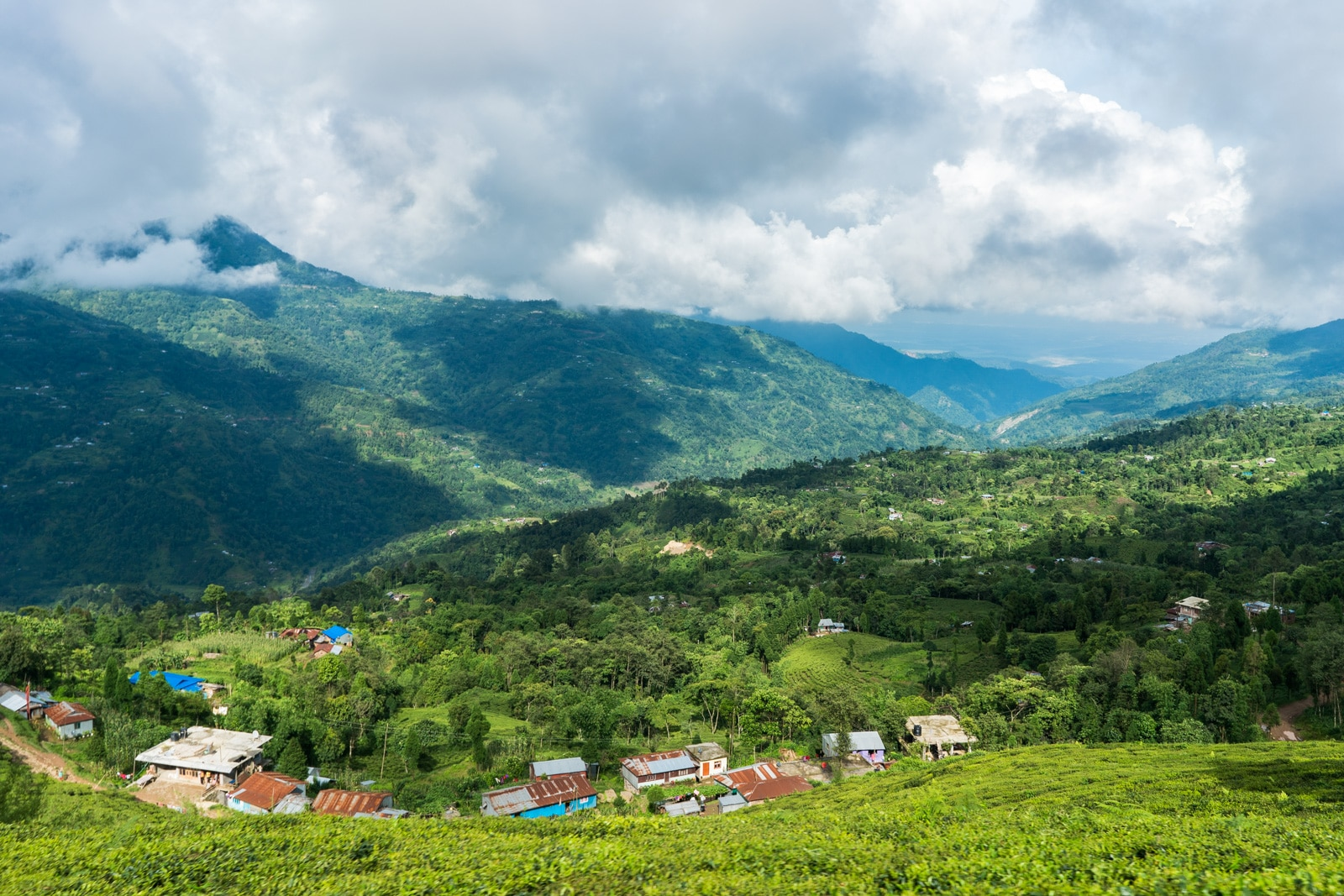 What it's like to travel in Nepal during monsoon - Epic views of mountains on the bus ride from Ilam to Kathmandu - Lost With Purpose travel blog