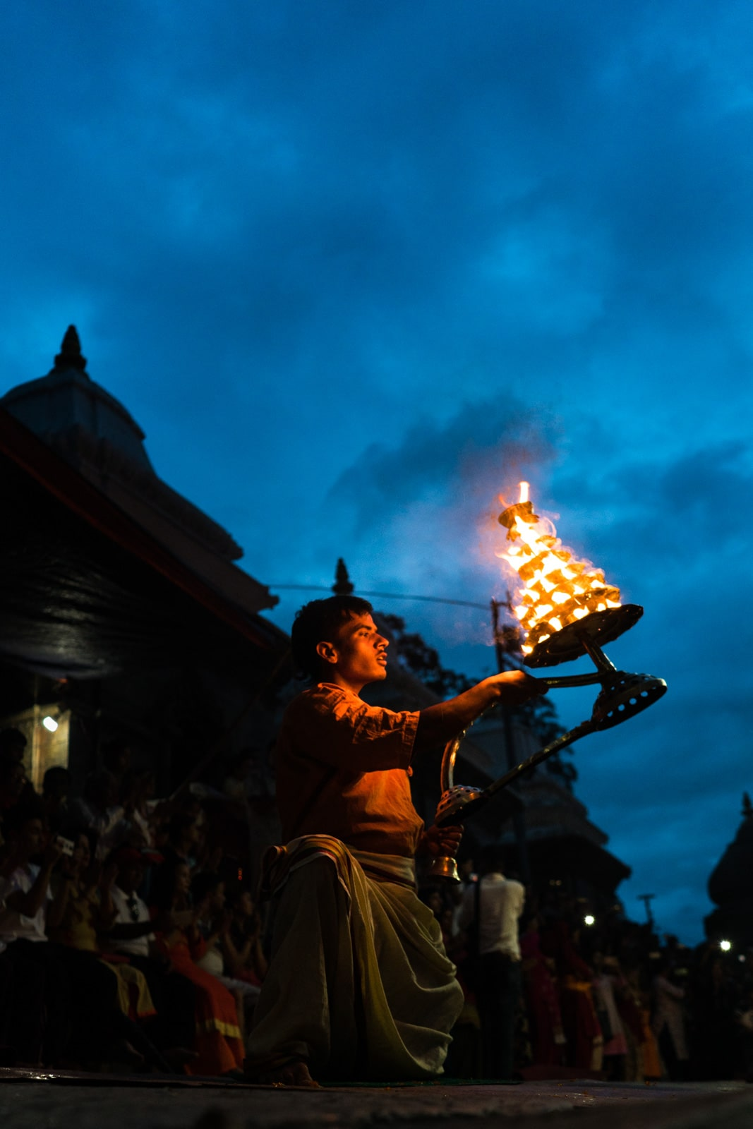 Coolest things to see in Kathmandu, Nepal during monsoon - Bagmati Aarti at Pashupatinath temple - Lost With Purpose travel blog