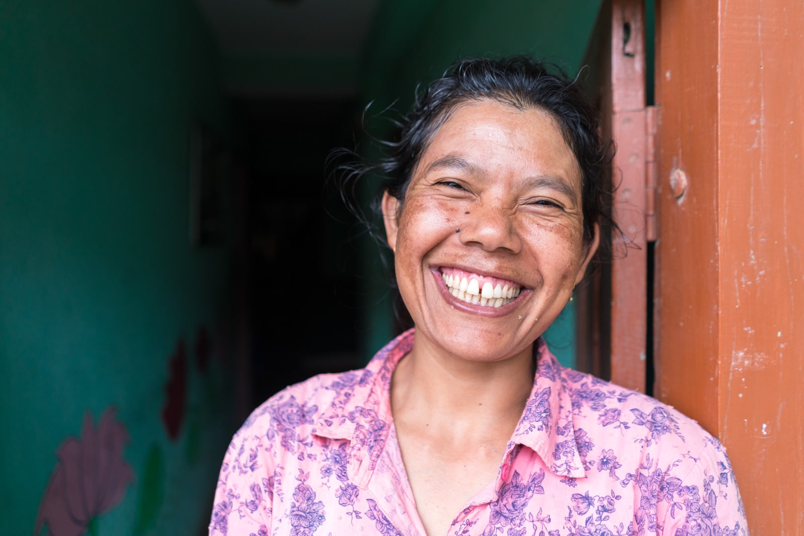 Best place to stay in Patan, Nepal - Sarita of Sanu's House homestay - Lost With Purpose travel blog