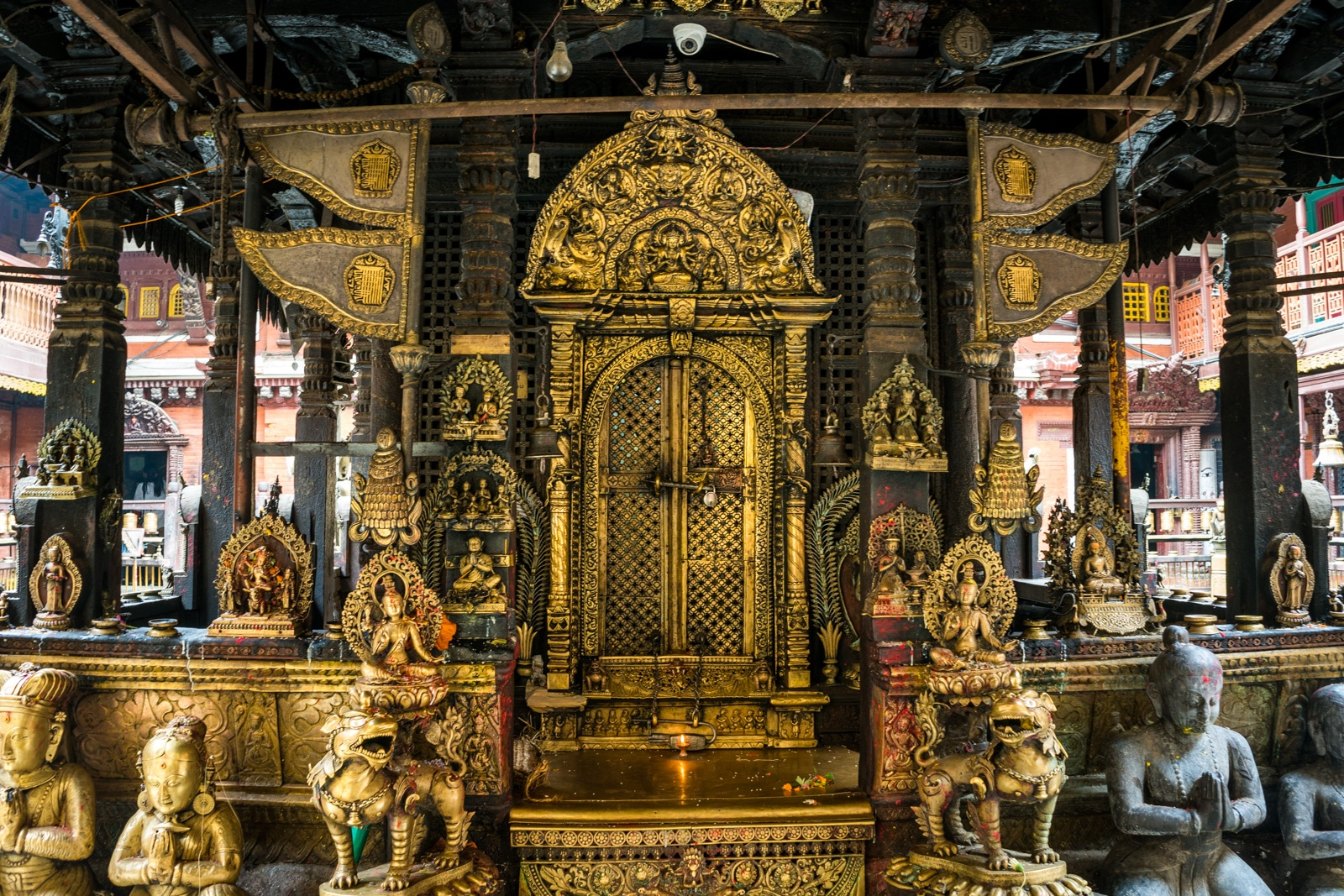 Traveling in Nepal during monsoon - Golden Temple in Patan - Lost With Purpose travel blog