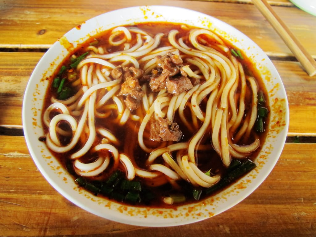 A bowl of Tibetan noodles - Top 5 must-eat delicacies in Lhasa, Tibet
