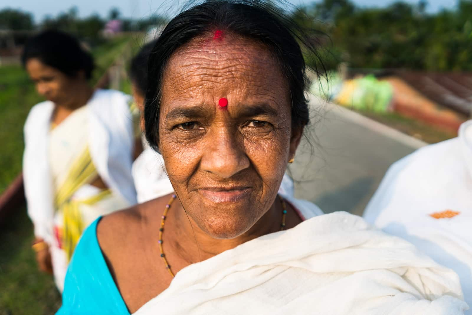 Reasons to love India - An Indian aunty in Dibrugarh, Assam state, India - Lost With Purpose travel blog