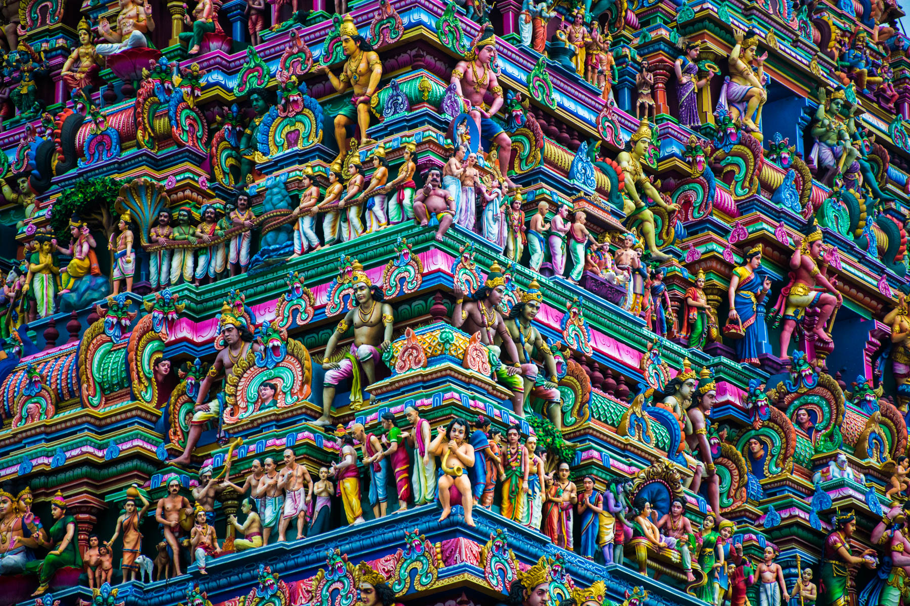 Reasons we fell in love with India - Kapaleeswarar Temple in Chennai, Tamil Nadu state, India - Lost With Purpose travel blog