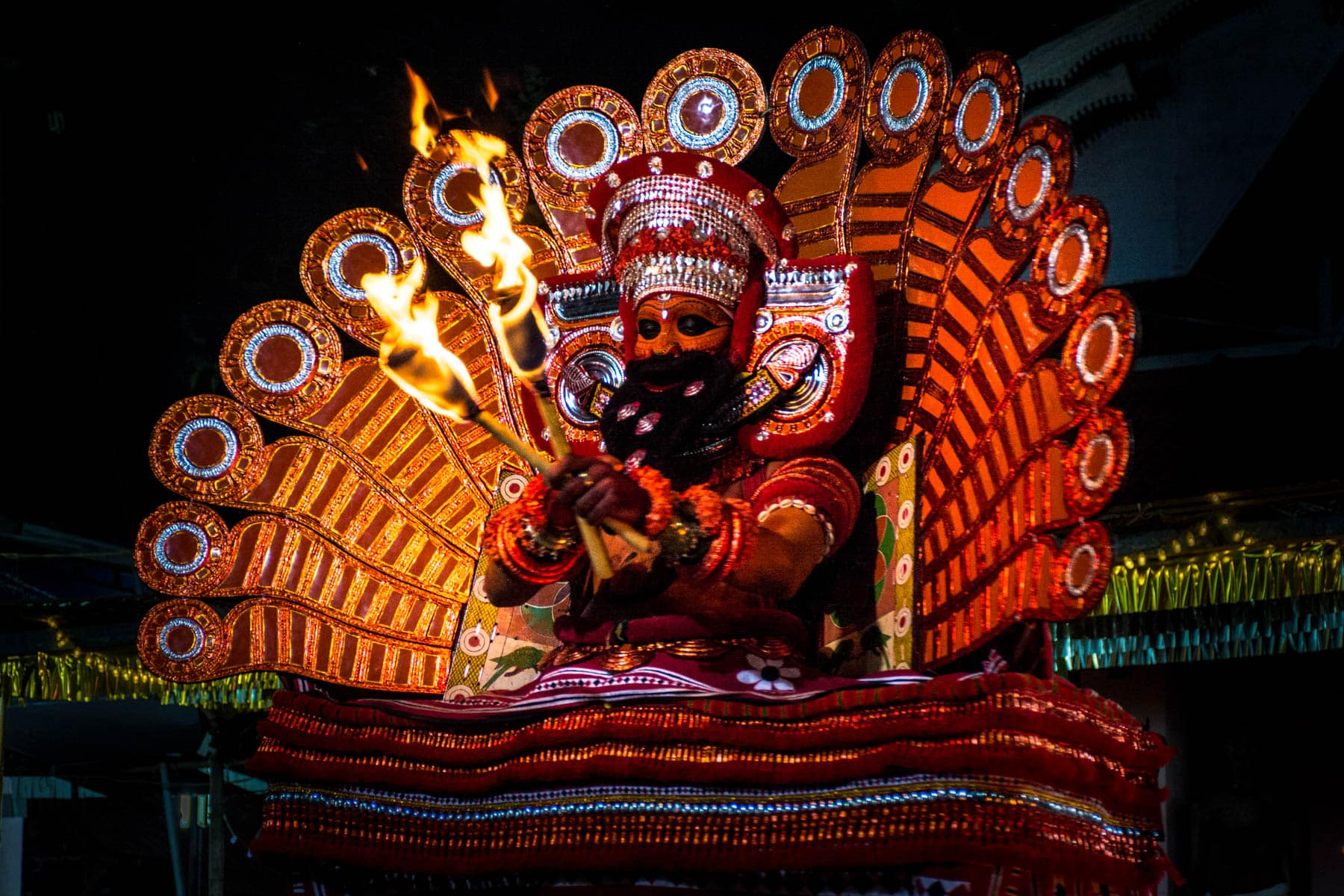 Why we love India - Theyyam in Kannur, Kerala state, India - Lost With Purpose travel blog