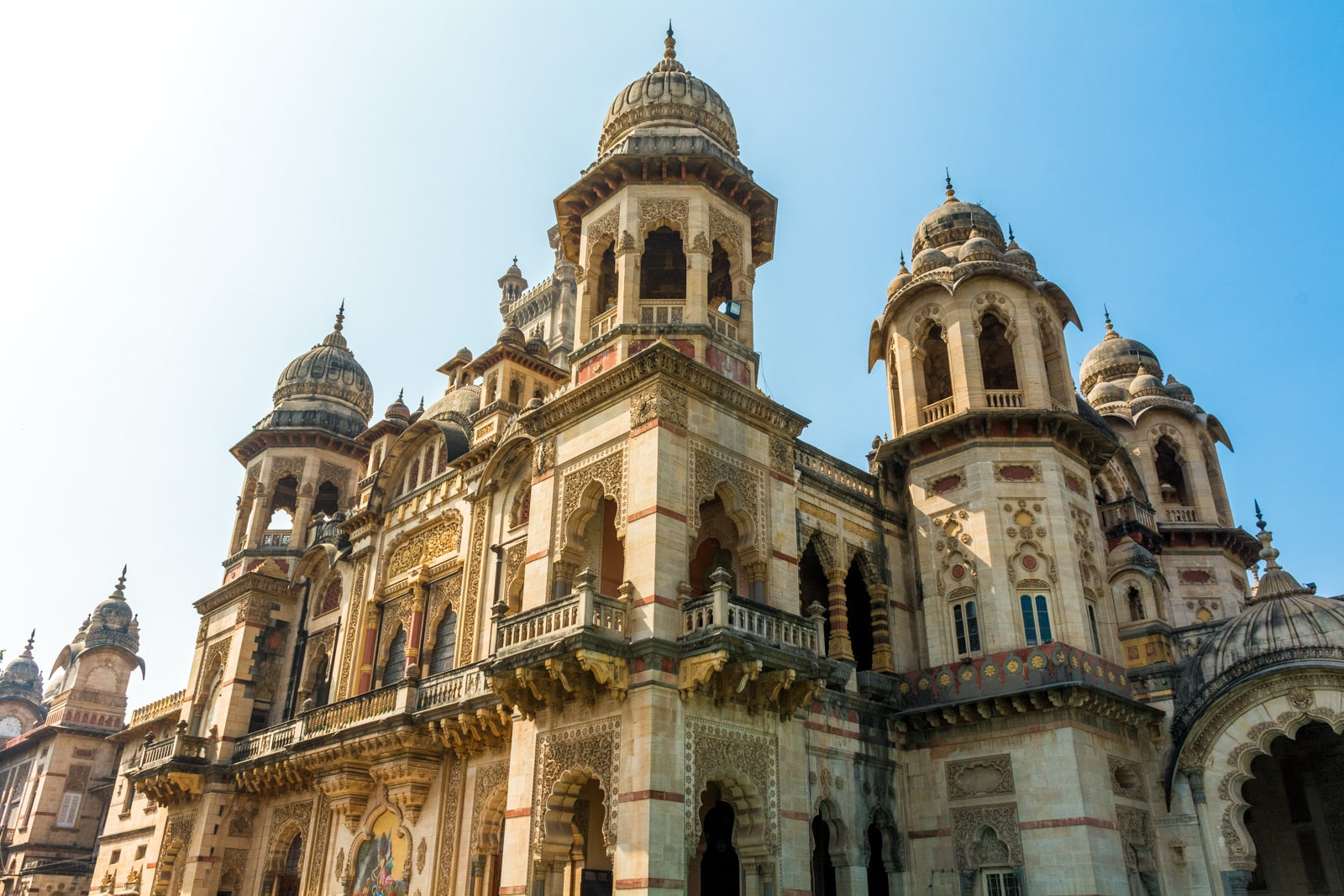 Why we fell in love with India - Laxmi Vilas palace in Vadodara (Baroda) Gujarat state, India - Lost With Purpose travel blog