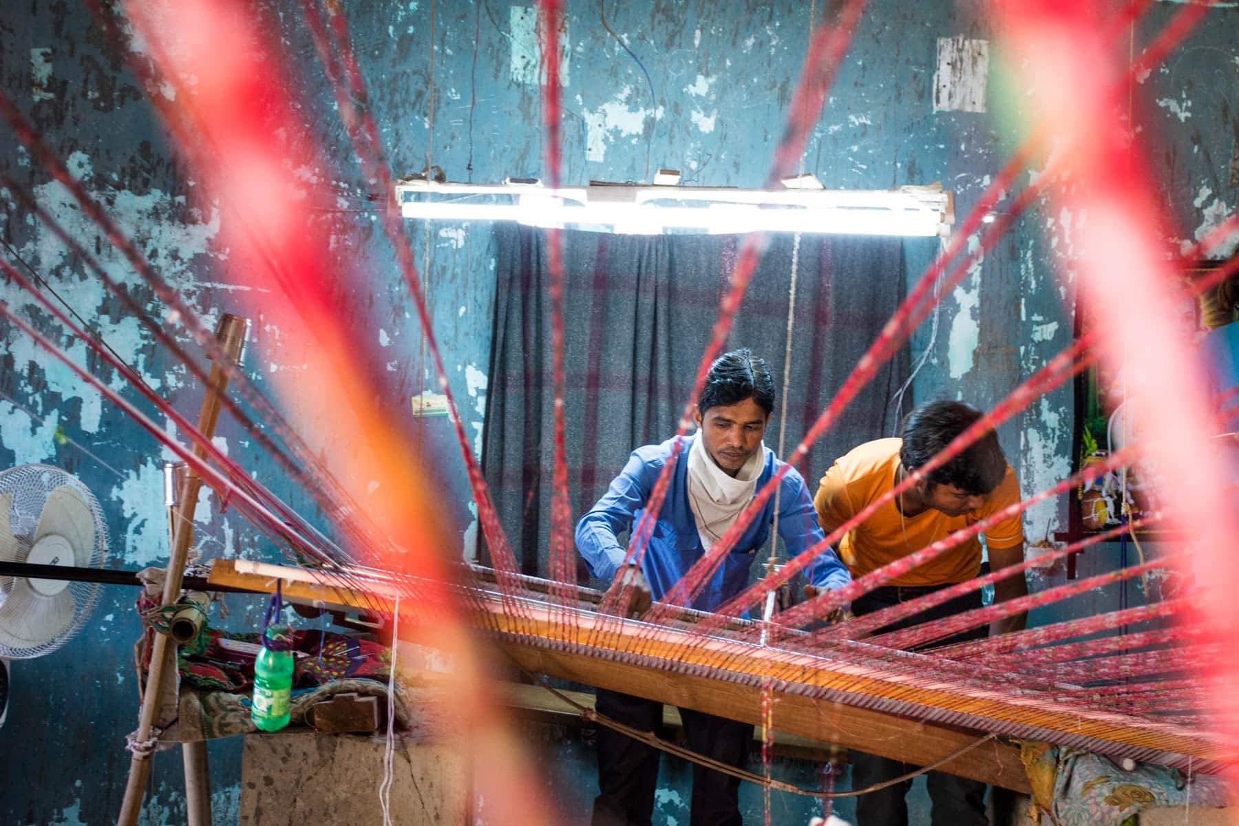 Why we fell in love with India - Patola weaving in Patan, Gujarat state, India - Lost With Purpose travel blog