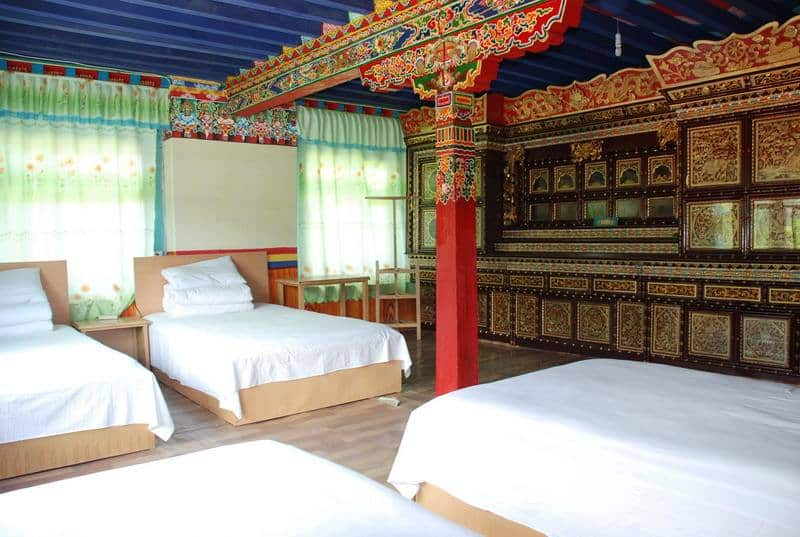 The cheapest way of traveling to Tibet - Hostel in Tibet