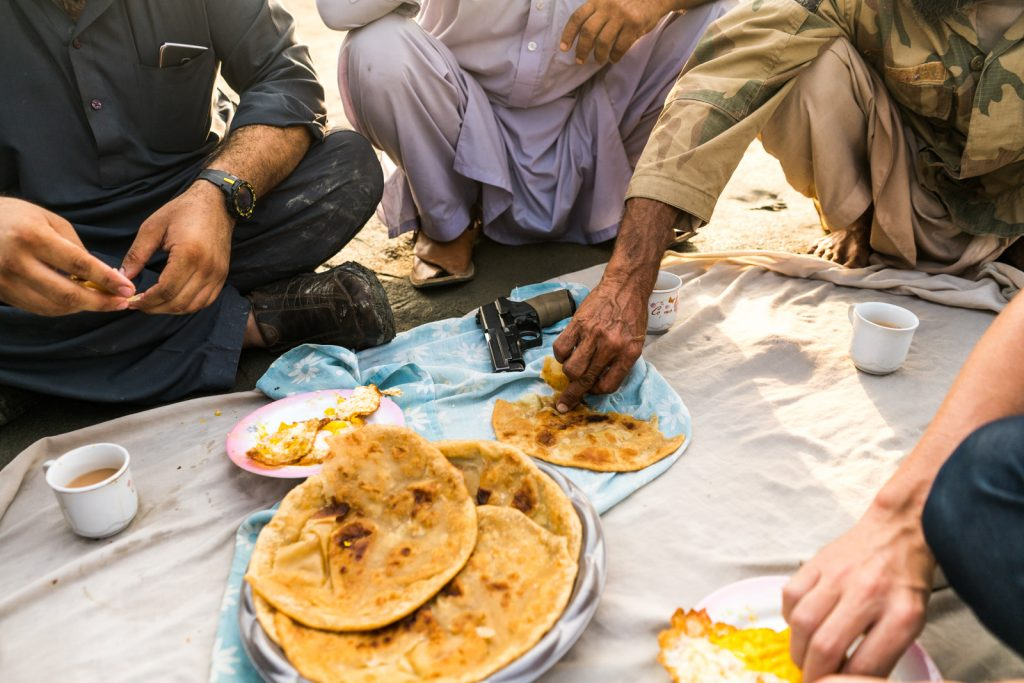 Who are the Pashtuns of Peshawar, Pakistan? - Breakfast with a side of gun - Lost With Purpose travel blog