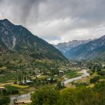 Great divide in Thall, Pakistan - Kumrat Valley and Thall village - Lost With Purpose travel blog