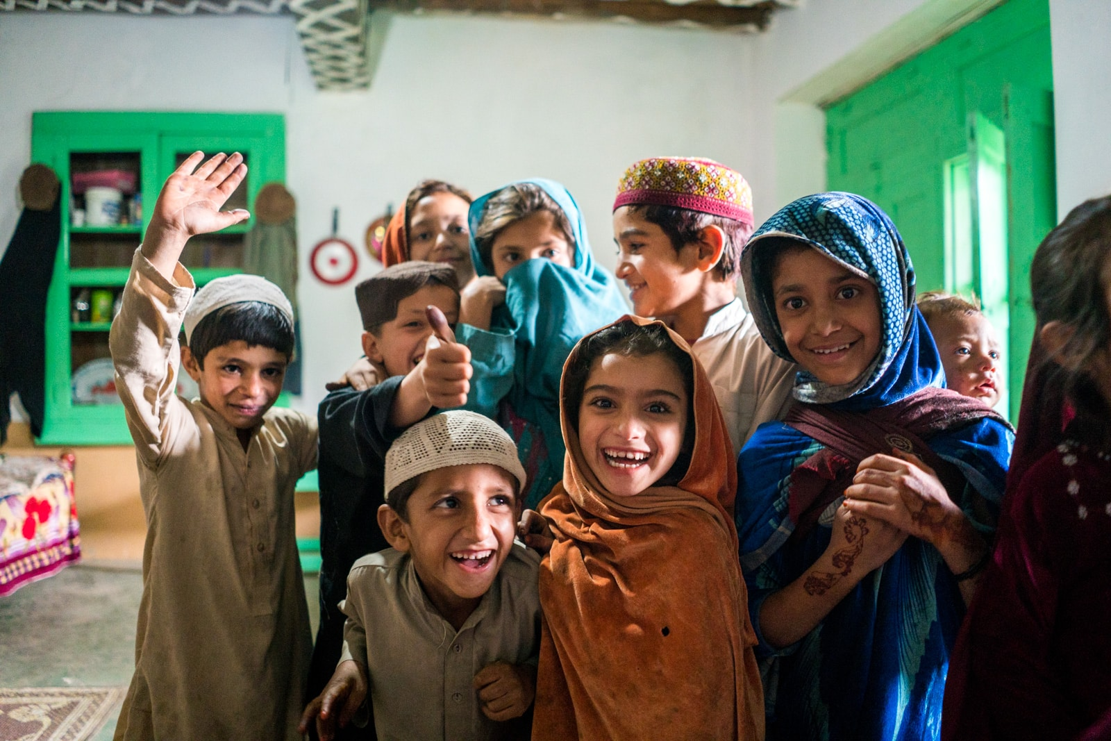 The great divide in Thall, Pakistan - Boys and girls in Thall - Lost With Purpose travel blog