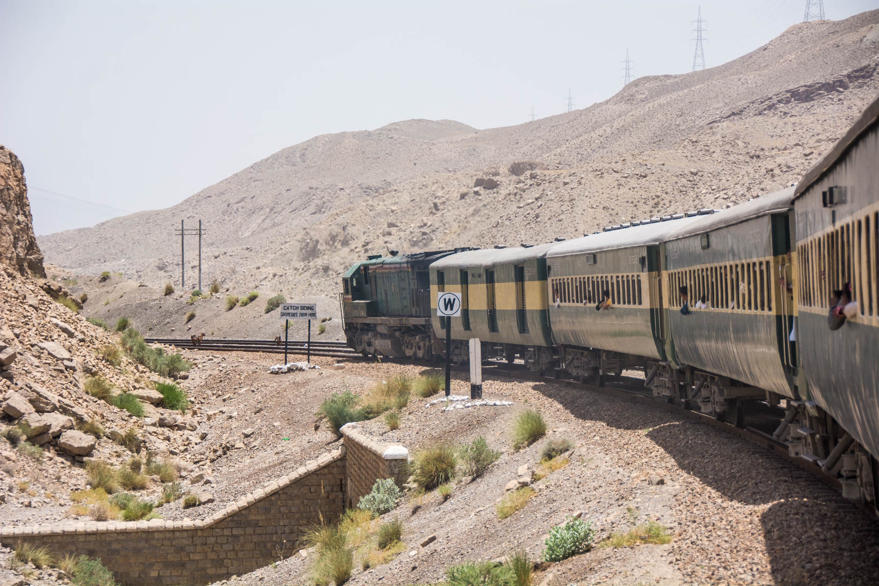 Guide to train travel in Pakistan - Bolan Mail train to Karachi - Lost With Purpose travel blog