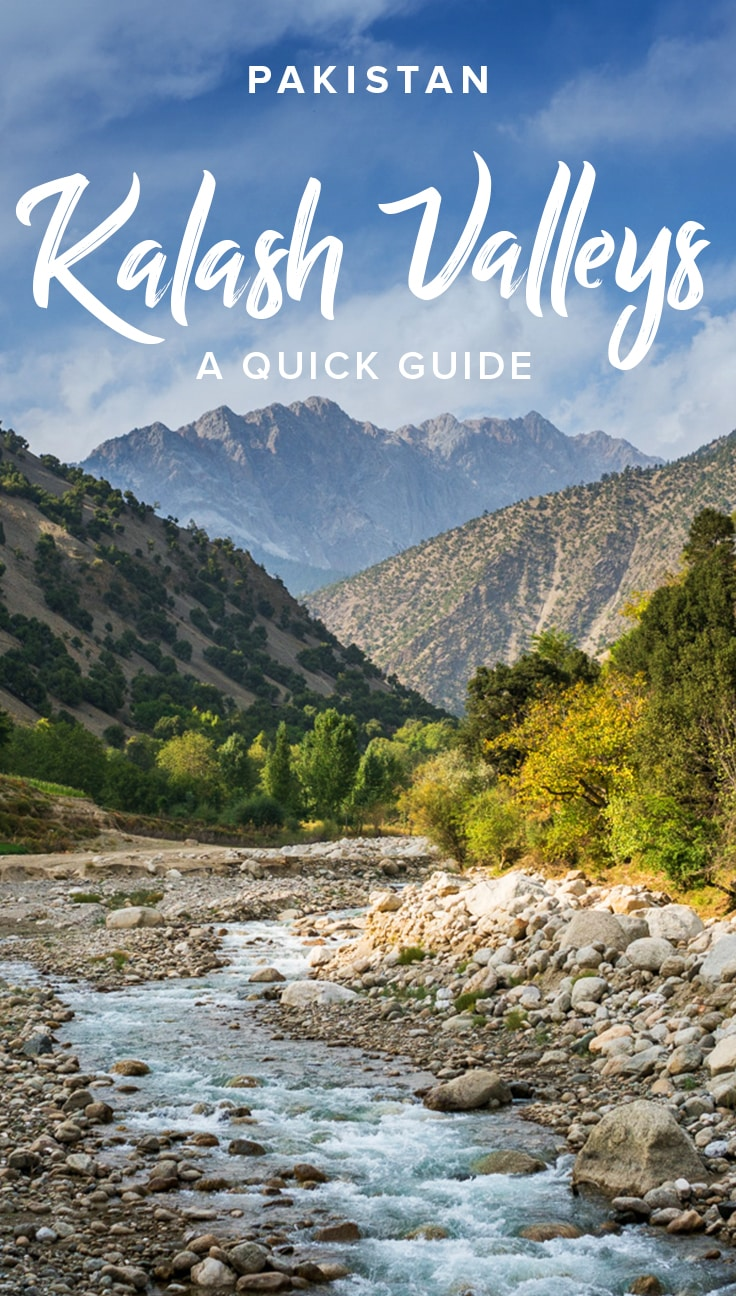 Want to travel to the Kalash Valleys in Pakistan, home to the colorful and culturally wild Kalasha people? Here's a guide to visiting the Kalash Valleys from Chitral, including tips on where to stay, how to get to Kalash by public transport, and advice about responsible travel in the Kalash Valleys.