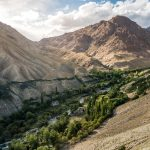 Itinerary and guide to the Sham Valley trek in Ladakh, India - Yangthang Village at sunset - Lost With Purpose travel blog