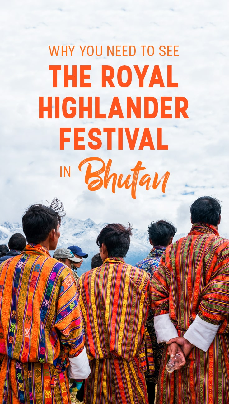 The annual Royal Highlander Festival in Bhutan is an epic celebration of highlander nomadic culture in Bhutan. From decorated yaks to Himalayan views to local sports, if you're looking for an exciting and off- the-beaten-track festival in Bhutan, this is the perfect place to start! Click through for photos from the 2017 Royal Highlander festival, and tips and travel advice for getting to future Royal Highlander Festivals.