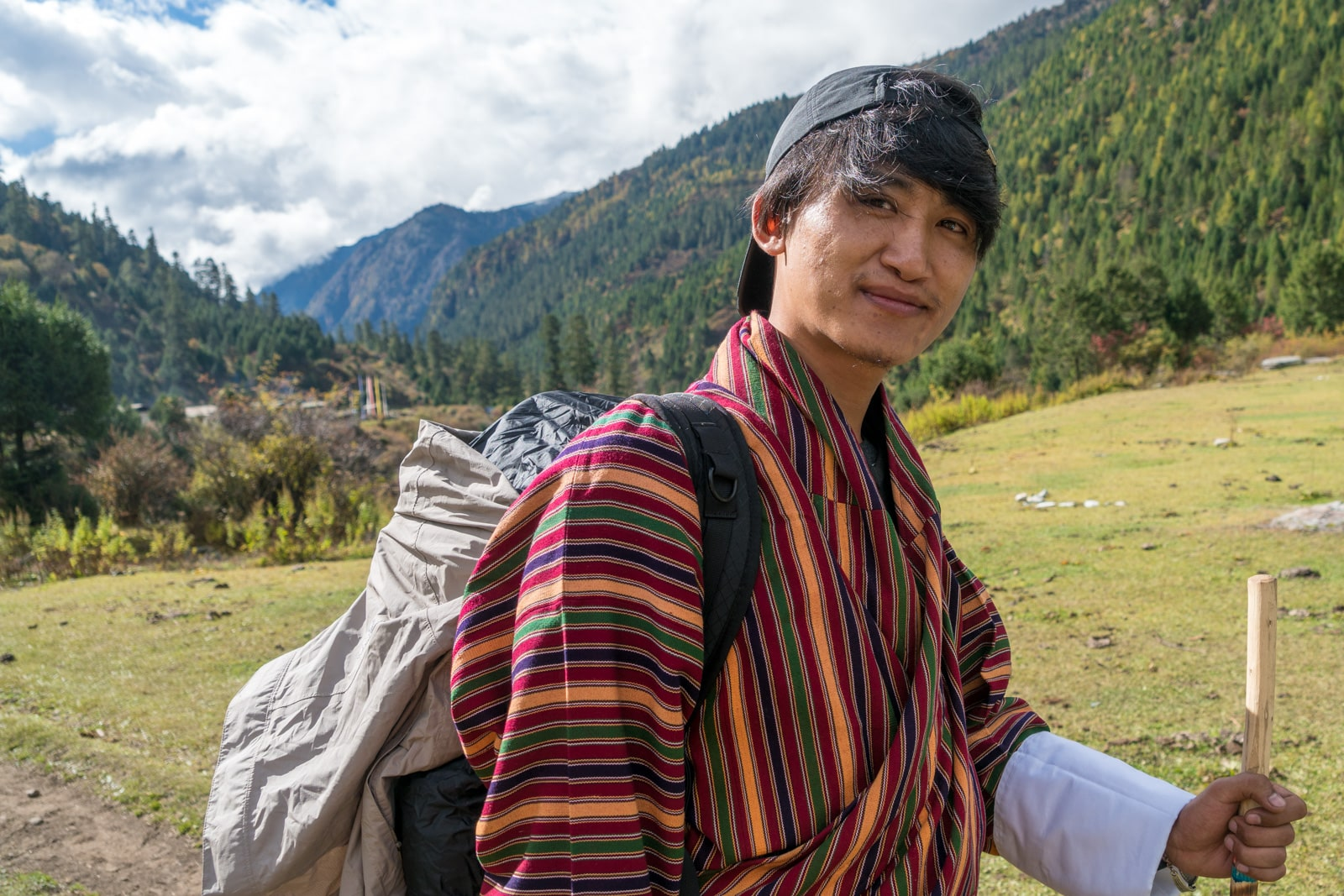 What is it like to have a tour guide in Bhutan? - Karma on the Gasa - Laya trek - Lost With Purpose travel blog