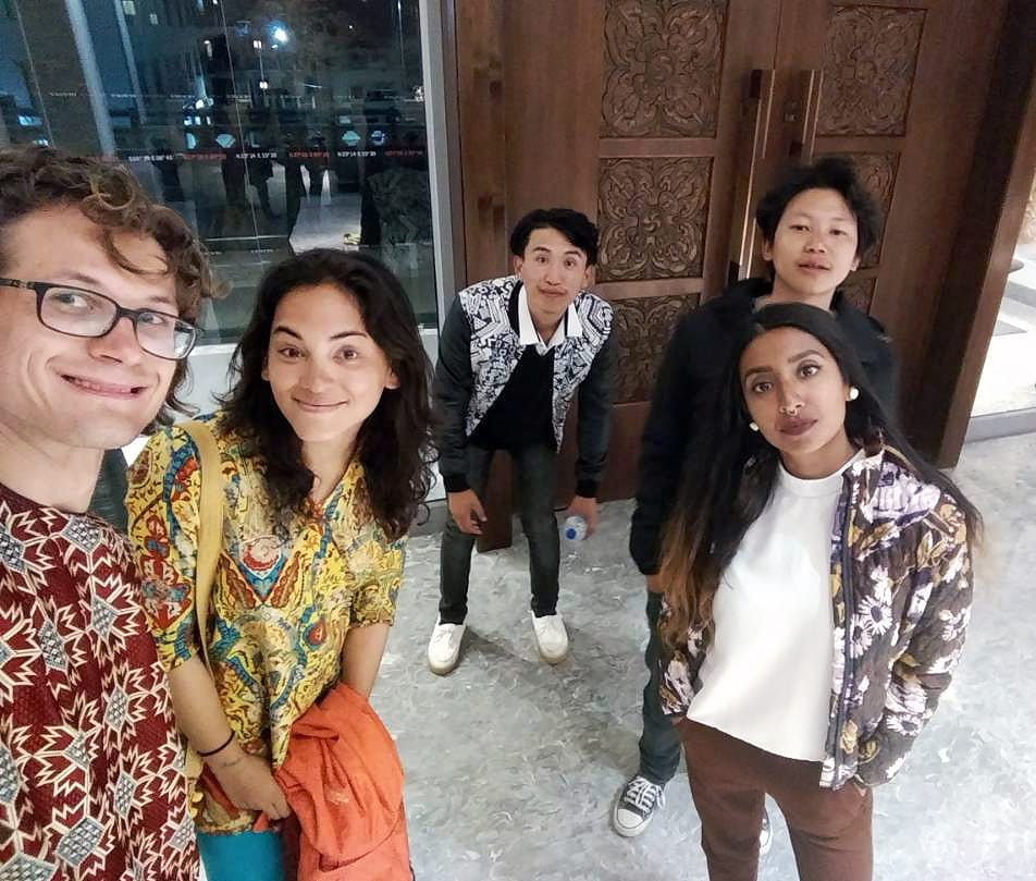 Our experience with a tour guide in Bhutan - Selfie after going out in Thimphu - Lost With Purpose travel blog