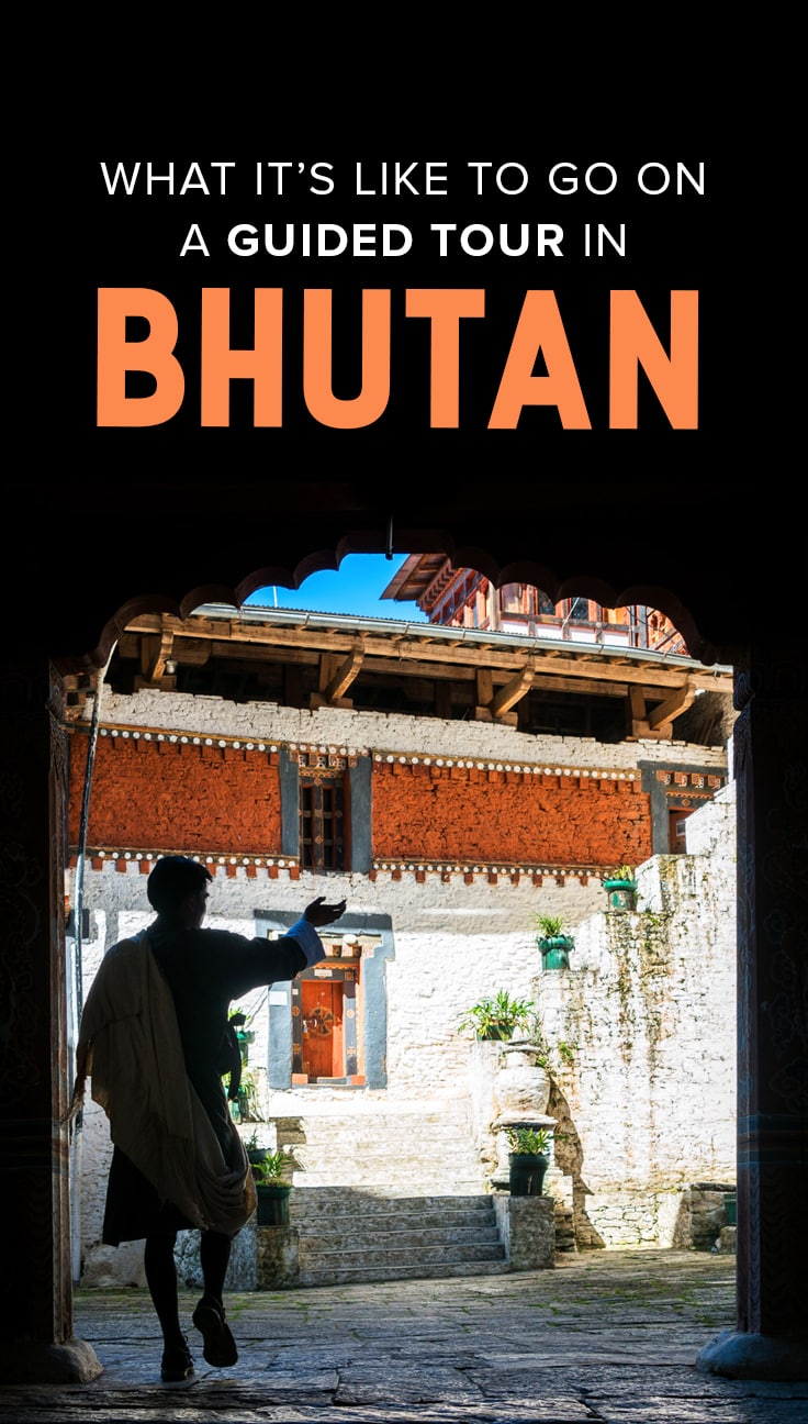 Guided tours or private tour guides are a requirement when traveling to Bhutan. As independent travelers, a being forced to go on a guided tour can seem like a deal breaker. But what is it really like to go on a guided tour in Bhutan? We assure you, it's definitely not what we expected. Read on to find out what really happened on our tour to Bhutan.