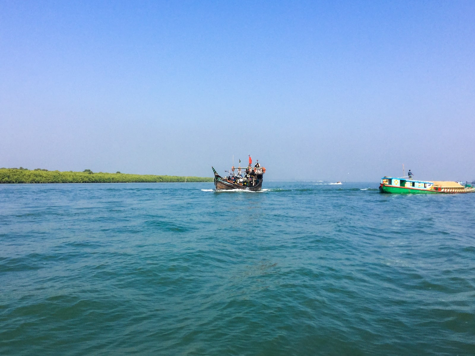 how to get from Cox's Bazar to Maheskhali Island in Bangladesh - Boat in Cox's Bazar - Lost With Purpose travel blog