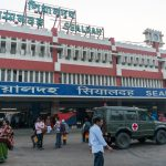 Crossing the India - Bangladesh border at Petrapole and Benapole - Sealdah Railway Station in the morning - Lost With Purpose travel blog