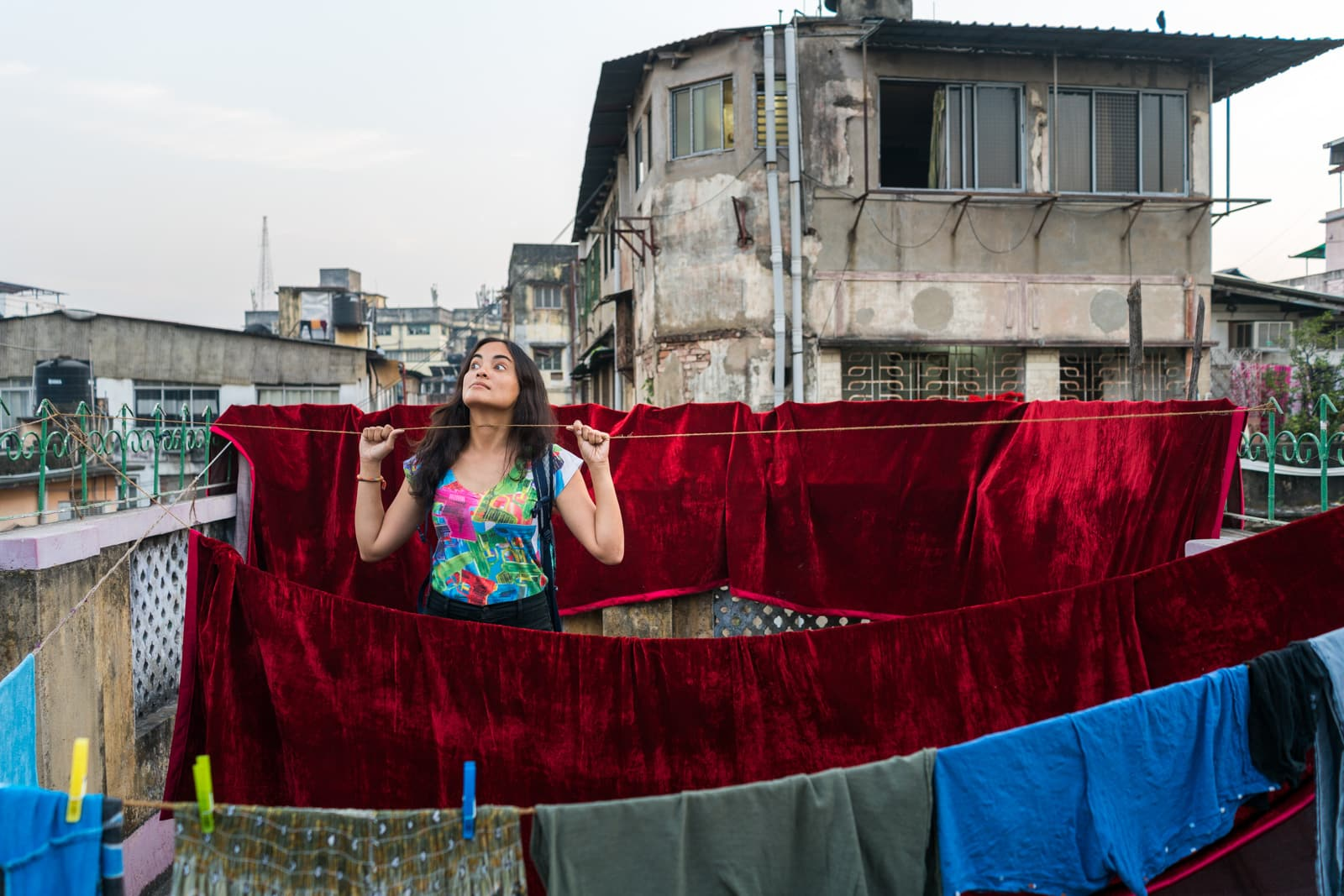 Breaking up on the road - Alex in Calcutta guesthouse - Lost With Purpose travel blog