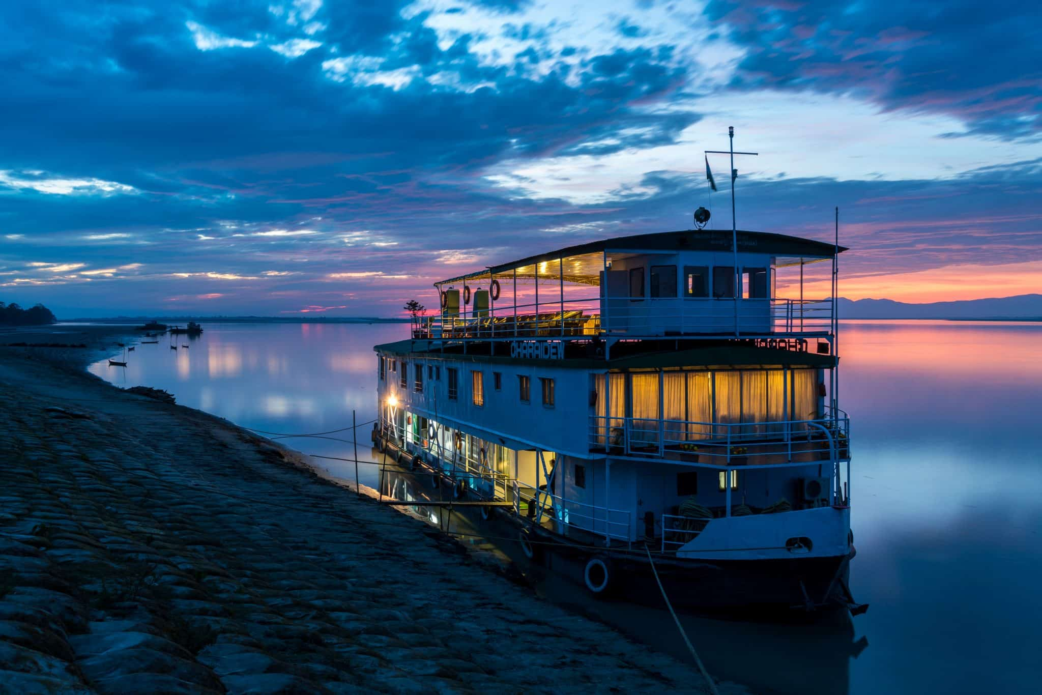 River cruise on the Brahmaputra with Assam Bengal Navigation - Lost With Purpose travel blog