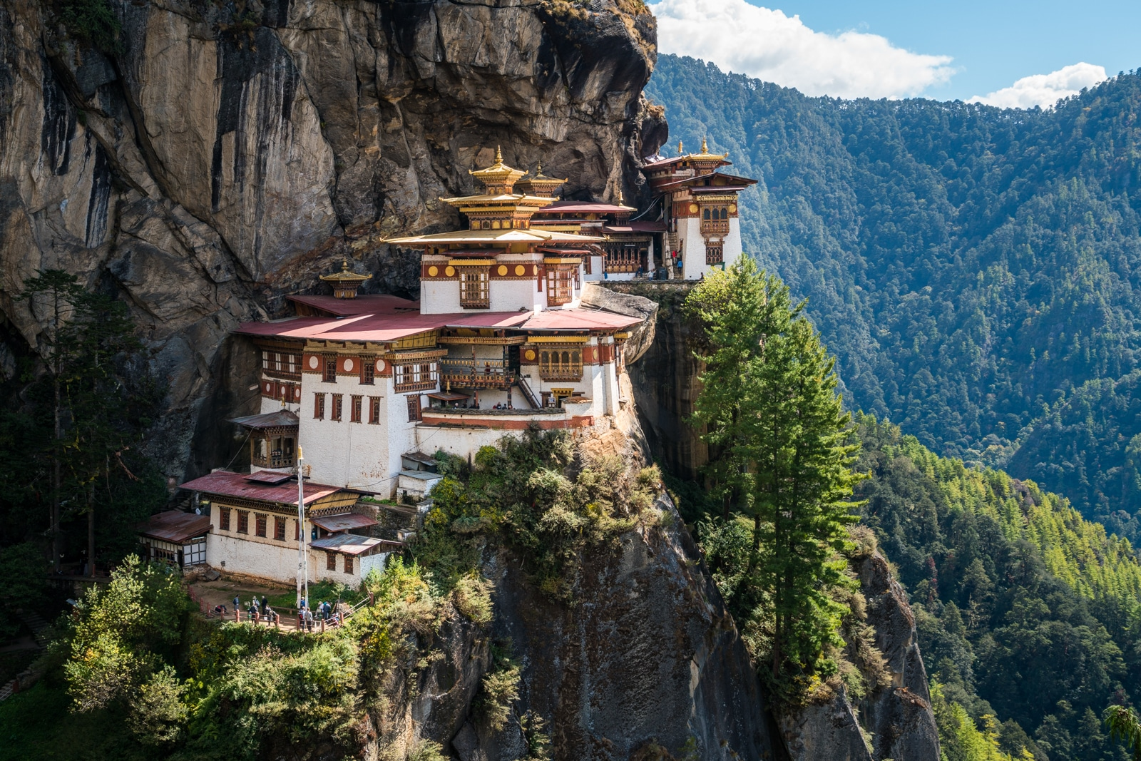 Is Bhutan worth the money? - The famous Tiger's Nest monastery near Paro - Lost With Purpose travel blog