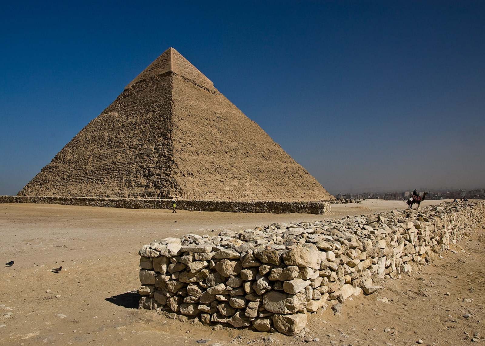 The Great Pyramid in Giza. Photo by Keith Yahl of Flickr.