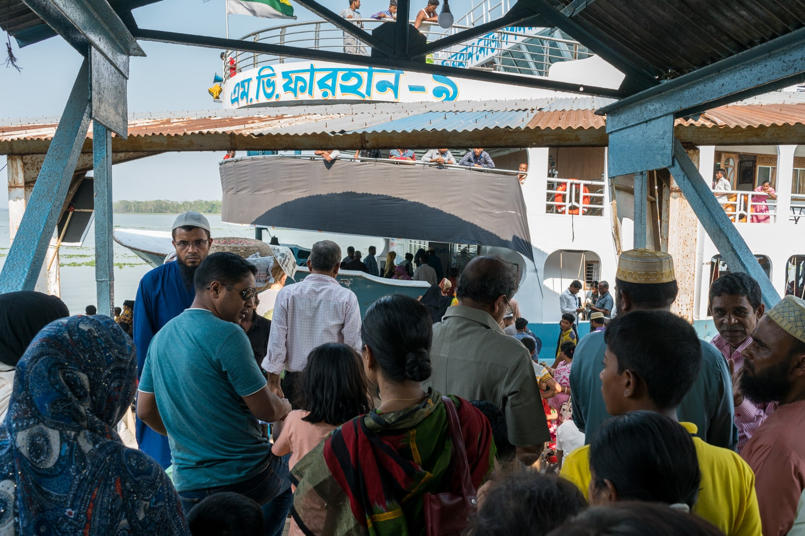 How to get a launch from Hularhat to Dhaka - Lost With Purpose travel blog