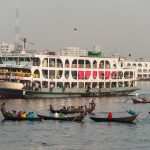 Guide to launches in Bangladesh - Launch in the Buriganga river in Dhaka - Lost With Purpose travel blog