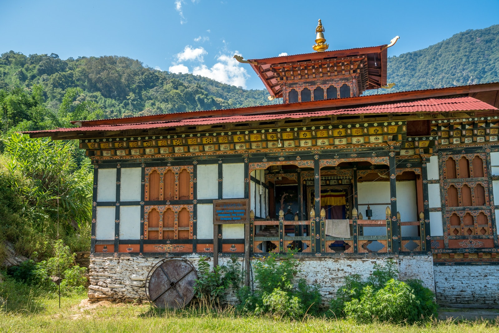 Where to go off the beaten track in Bhutan - Temple outside of Tingtibi, Zhemgang district - Lost With Purpose travel blog