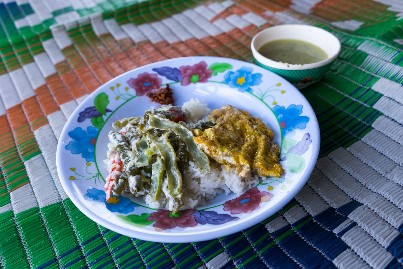 Off the beaten track in Bhutan - Ema datsi, a traditional Bhutanese dish of chilies and cheese - Lost With Purpose travel blog