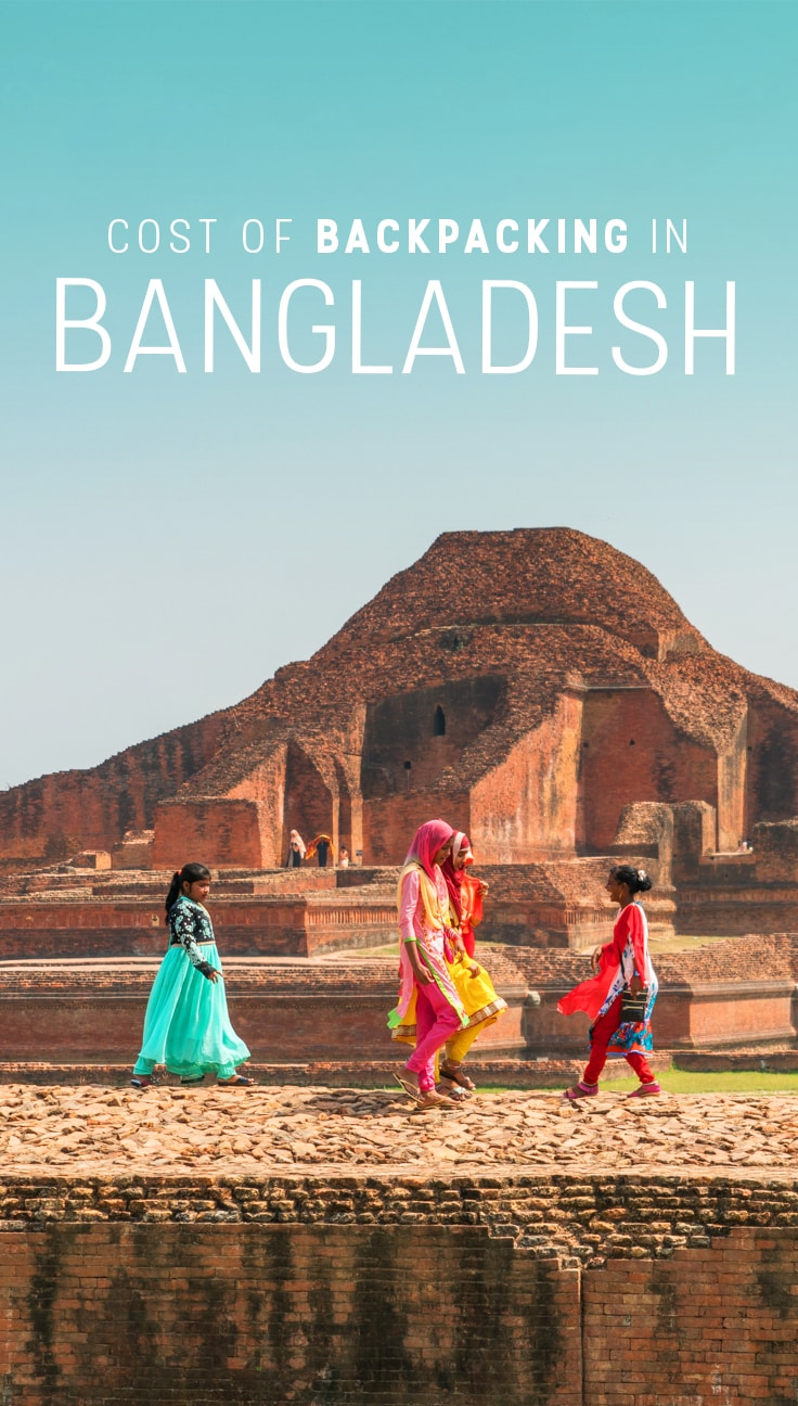 Want to travel in Bangladesh? Here's a budget breakdown of exactly how much it costs to go solo backpacking in Bangladesh for one month. Includes average costs, a city by city breakdown, and recommendations for budget accommodation in Bangladesh, to name a few. Read on to see how much Bangladesh costs!