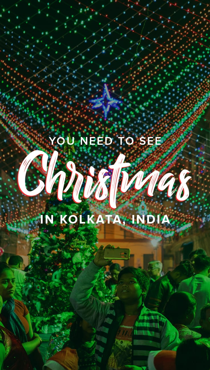 Looking for an unusual place to celebrate Christmas? Why not give Christmas in Kolkata, India a try? It's a diverse Christmas celebration like no other in the world that you need to see to believe. Click through for photos from Christmas in Kolkata, plus a guide on how to get the most from your Christmas celebrations there. Includes tips on where to stay in Kolkata, places to eat, and where to see celebrations.