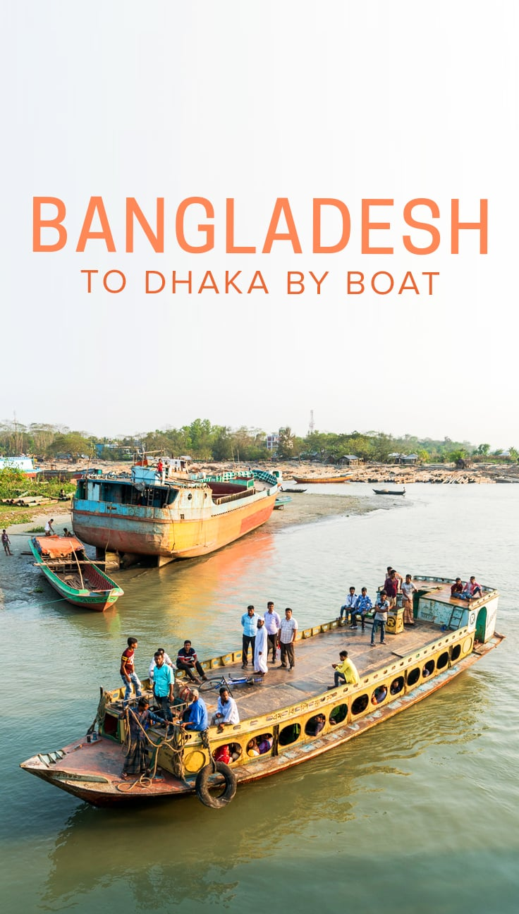 Traveling to Bangladesh? Boats are the best—and most beautiful—way to get around the country. Taking a boat from Khulna to Dhaka can be the highlight of any trip to Bangladesh... but it can also go wrong if planned poorly (like I did). Click through for my tale of failed boat adventures, plus a guide on how to get a Rocket Steamer or launch boat to Dhaka from the Khulna area.
