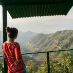Easy ways to travel more responsibly - Looking out over hills of Uttarakhand - Lost With Purpose travel blog