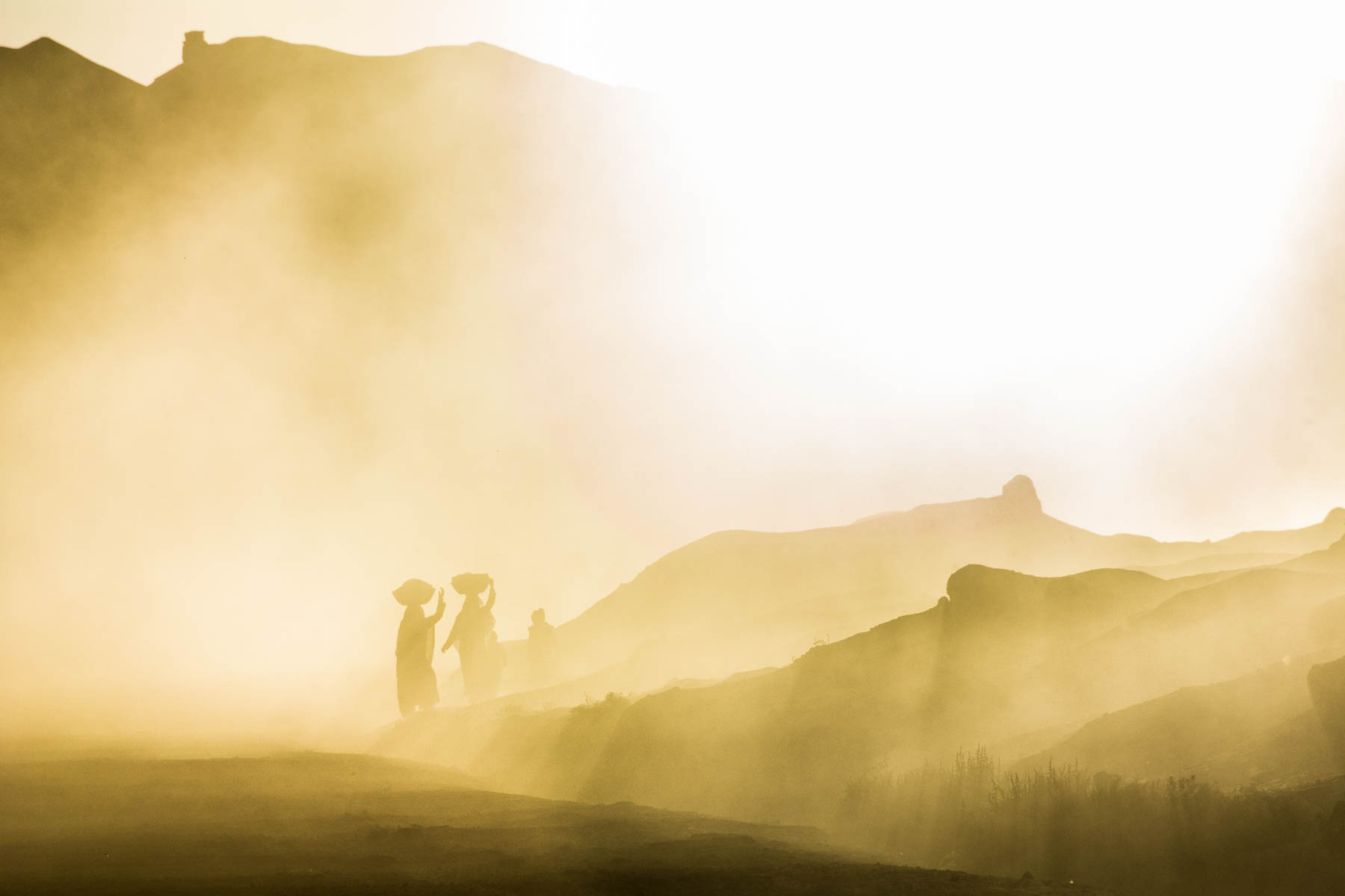 Easy ways to be a more responsible traveler - Afghan women walking in Bamiyan - Lost With Purpose travel blog