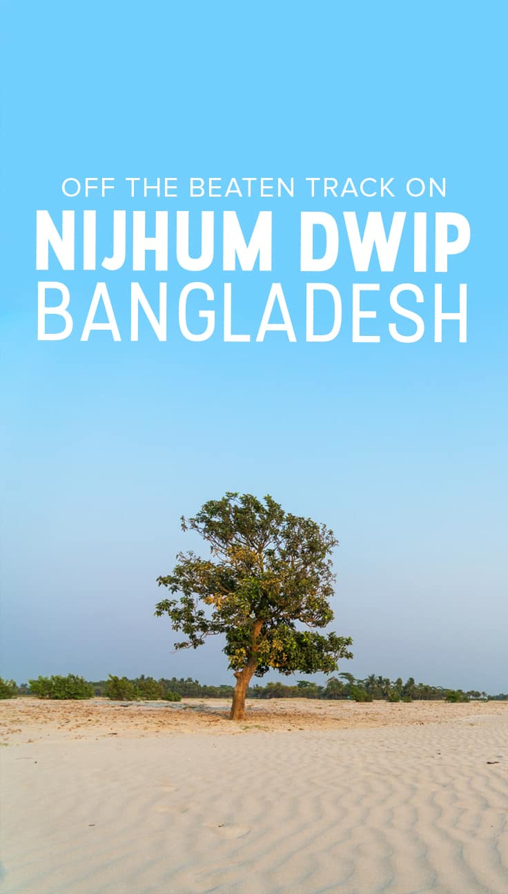 Want to get off the beaten track in Bangladesh? Nijhum Dwip is a remote island in the south of Bangladesh, where the Meghna river meets the Bay of Bengal. If you want to experience a bit of Bengali village life, enjoy a natural national park filled with wild deer, or simply enjoy a slower pace of life on Bangladesh's islands, this is the place! This guide includes information on how to reach Nijhum Dwip from Dhaka, where to stay, things to do, what to eat, and tips on responsible tourism... to name a few. Click through to plan your travel to Nijhum Dwip.