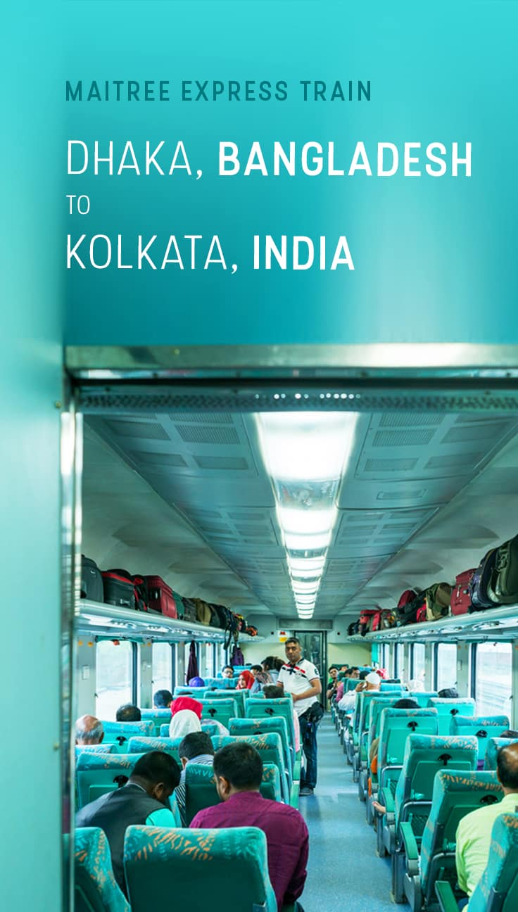 Want to travel by train from Bangladesh to India? This post has everything you need to take the train from Dhaka, Bangladesh's capital, to Kolkata, India. Includes schedules, fares, travel times, and tips on what to do and how much to pay if you overstay your Bangladesh visa. Read on for more!