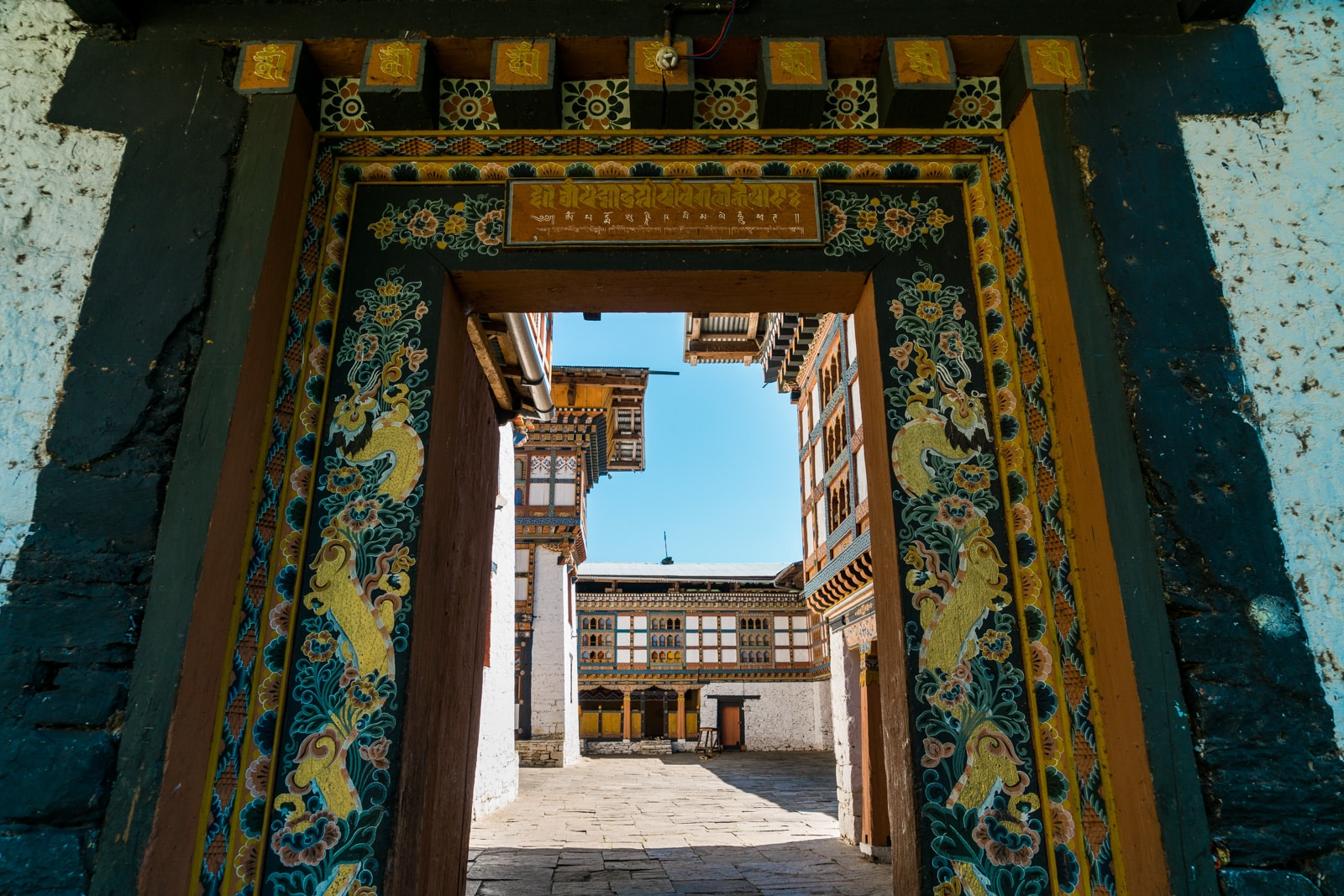 Stunning photos of Bhutan - Inndocholing dzong - Lost With Purpose travel blog